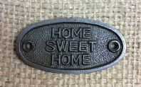 Home Sweet Home Plaque